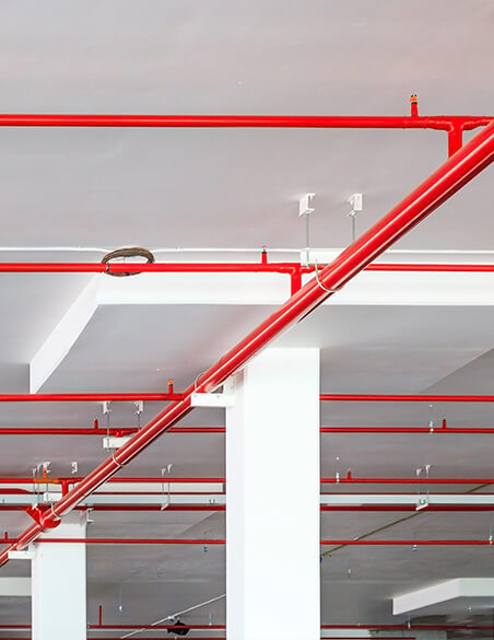 Commercial Fire Protection Pipework
